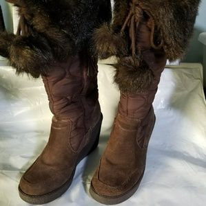 Report Starla quilted boots